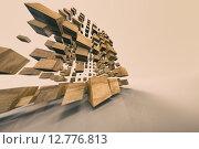 Абстрактный постер. Стоковая иллюстрация, иллюстратор Алексей Елфимчев / Фотобанк Лори