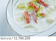 Creamy Reuben Soup. Стоковое фото, фотограф Александр Fanfo / Фотобанк Лори