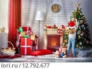 Купить «Preparing for Christmas», фото № 12792677, снято 21 сентября 2015 г. (c) Константин Юганов / Фотобанк Лори