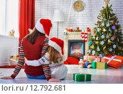 Купить «Christmas celebration», фото № 12792681, снято 21 сентября 2015 г. (c) Константин Юганов / Фотобанк Лори