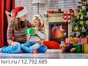 Купить «Christmas celebration», фото № 12792685, снято 21 сентября 2015 г. (c) Константин Юганов / Фотобанк Лори