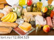 Купить «Provision at table in home», фото № 12804529, снято 17 июля 2018 г. (c) Яков Филимонов / Фотобанк Лори