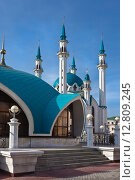 Купить «Мечеть Кул Шариф в Казанском Кремле», фото № 12809245, снято 26 сентября 2015 г. (c) Victoria Demidova / Фотобанк Лори