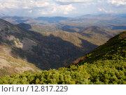 Купить «Отроги горы Облачная», фото № 12817229, снято 26 сентября 2015 г. (c) Сергеев Игорь / Фотобанк Лори