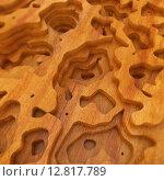 Абстрактный деревянный фон. Стоковая иллюстрация, иллюстратор Алексей Елфимчев / Фотобанк Лори