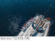 Яхтсмены (2015 год). Стоковое фото, фотограф Андрей Снопков / Фотобанк Лори