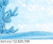 Купить «Зимний фон», фото № 12820749, снято 18 января 2015 г. (c) Икан Леонид / Фотобанк Лори