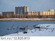 Вид на район Марьино. Стоковое фото, фотограф Сергей Макаров / Фотобанк Лори