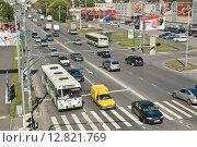 Улица Милашенкова в Москве (2011 год). Редакционное фото, фотограф Алёшина Оксана / Фотобанк Лори