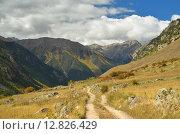 Купить «Кавказские горы осенью», фото № 12826429, снято 5 октября 2015 г. (c) александр жарников / Фотобанк Лори