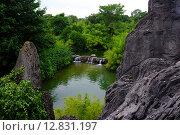Водопад. Стоковое фото, фотограф Анна Марчук / Фотобанк Лори
