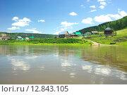 Купить «Река Ай», фото № 12843105, снято 20 июля 2015 г. (c) Игорь Потапов / Фотобанк Лори