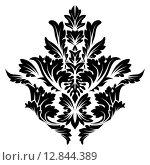Купить «Damask Emblem», иллюстрация № 12844389 (c) PantherMedia / Фотобанк Лори