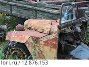 Ретроавтомобиль ГАЗ-67 (2015 год). Редакционное фото, фотограф Косоуров Юрий / Фотобанк Лори