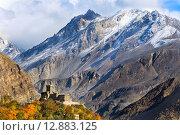 Старинный форт в горах. Стоковое фото, фотограф Константин Ламин / Фотобанк Лори