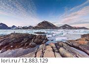 Безмолвие Гренландии. Стоковое фото, фотограф Константин Ламин / Фотобанк Лори