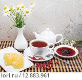 Купить «Чайный набор от простуды», фото № 12883961, снято 6 октября 2015 г. (c) Алёшина Оксана / Фотобанк Лори