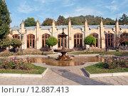 Купить «Кисловодск. Нарзанная галерея», эксклюзивное фото № 12887413, снято 6 октября 2015 г. (c) Svet / Фотобанк Лори