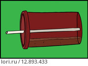 Купить «Tipped Over Soda Cup», иллюстрация № 12893433 (c) PantherMedia / Фотобанк Лори