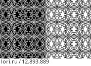 Купить «Abstract geometric seamless pattern background», иллюстрация № 12893889 (c) PantherMedia / Фотобанк Лори