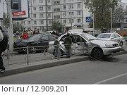 Дорожно-транспортное происшествие (2007 год). Редакционное фото, фотограф Дмитрий Пискунов / Фотобанк Лори
