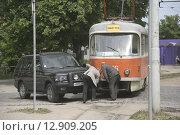 Дорожно-транспортное происшествие (2008 год). Редакционное фото, фотограф Дмитрий Пискунов / Фотобанк Лори
