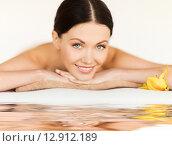 Купить «woman in spa», фото № 12912189, снято 4 мая 2013 г. (c) Syda Productions / Фотобанк Лори