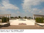 Купить «Мемориальный комплекс жертвам репрессий. Назрань. Ингушетия», эксклюзивное фото № 12916237, снято 3 октября 2015 г. (c) Svet / Фотобанк Лори