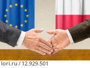 Купить «hand europe hands flag cooperation», фото № 12929501, снято 22 июля 2019 г. (c) PantherMedia / Фотобанк Лори