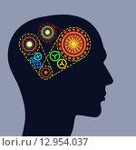 Купить «Thinking mechanisms. Concept image», иллюстрация № 12954037 (c) Sergey Nivens / Фотобанк Лори