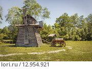 Ветряная мельница. Стоковое фото, фотограф Игорь Яковлев / Фотобанк Лори