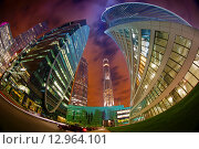 Москва-сити (2015 год). Редакционное фото, фотограф Алексей Ильченко / Фотобанк Лори