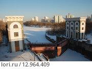 Купить «Шлюз № 9 канала имени Москвы», эксклюзивное фото № 12964409, снято 9 марта 2011 г. (c) lana1501 / Фотобанк Лори