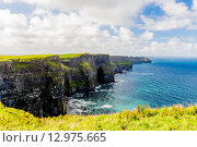 Купить «Cliffs of Moher», фото № 12975665, снято 21 февраля 2020 г. (c) PantherMedia / Фотобанк Лори