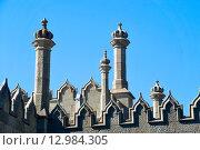 Купить «Башенки Воронцовского двореца. Алупка, Крым», эксклюзивное фото № 12984305, снято 19 сентября 2015 г. (c) Александр Щепин / Фотобанк Лори
