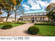 Летний дворец королевы Анны в Праге, Чешская Республика (2014 год). Редакционное фото, фотограф g.bruev / Фотобанк Лори
