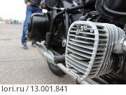 Двигатель мотоцикла. Стоковое фото, фотограф Кирилл Патутин / Фотобанк Лори
