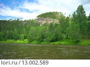 Купить «Река Ай», фото № 13002589, снято 23 июля 2015 г. (c) Игорь Потапов / Фотобанк Лори
