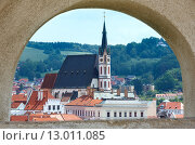 Купить «St. Vitus Church in Cesky Krumlov (Czech Republic)», фото № 13011085, снято 30 мая 2012 г. (c) Юрий Брыкайло / Фотобанк Лори