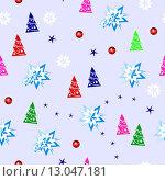 Купить «Новогодний фон», иллюстрация № 13047181 (c) Музыка Анна / Фотобанк Лори