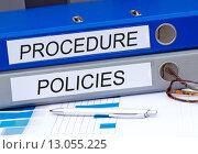 Купить «Procedure and Policies», фото № 13055225, снято 20 мая 2019 г. (c) PantherMedia / Фотобанк Лори
