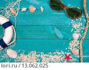 Купить «Summer Holidays at the Beach», фото № 13062025, снято 16 июня 2019 г. (c) PantherMedia / Фотобанк Лори
