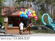 Новосибирский зоопарк. Сувенирная лавка (2014 год). Редакционное фото, фотограф Василий Бронников / Фотобанк Лори