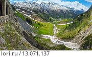 Alpine panorama (Vorarlberg,Austria) Стоковое фото, фотограф Юрий Брыкайло / Фотобанк Лори