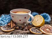 Купить «Cup of tea», фото № 13089277, снято 18 октября 2019 г. (c) PantherMedia / Фотобанк Лори