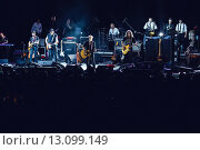 Гарик Сукачев и Сергей Галанин. Бригада С (2015 год). Редакционное фото, фотограф Иван Маркуль / Фотобанк Лори