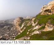 Живописные скалы в тумане. Стоковое фото, фотограф Инна Маслова / Фотобанк Лори