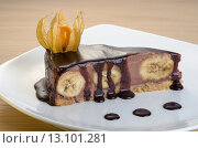 Банановый десерт. Стоковое фото, фотограф Эдуард Пиолий / Фотобанк Лори