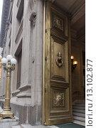 Doorway of a building. Стоковое фото, фотограф Keith Levit / Ingram Publishing / Фотобанк Лори