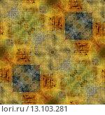 Купить «art geometric ornamental vintage patternp drawn with colored pencils; background in yellow, orange, brown and green colors», фото № 13103281, снято 19 апреля 2019 г. (c) Ingram Publishing / Фотобанк Лори